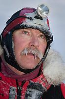 Portrait of David Sawatzky at Takotna during Iditarod 2009