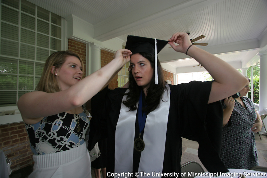 Photo by Matthew S. Sharpe.  Croft Institute for International Studies Graduation Ceremony and Reception.