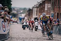 Edward Planckaert (BEL/Sport Vlaanderen-Baloise)<br /> <br /> Belgian National Championships 2018 (road) in Binche (224km)<br /> ©kramon