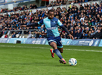 Myles Weston of Wycombe Wanderers during the Sky Bet League 2 match between Wycombe Wanderers and Mansfield Town at Adams Park, High Wycombe, England on the 14th April 2017. Photo by Liam McAvoy.