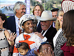 November 2, 2019: Connections for Mitole, winner of the Breeders' Cup Sprint on Breeders' Cup World Championship Saturday at Santa Anita Park on November 2, 2019: in Arcadia, California. Bill Denver/Eclipse Sportswire/CSM