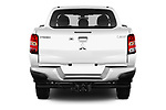 Straight rear view of a 2018 Mitsubishi L200 Intense 2 Door Pick Up stock images