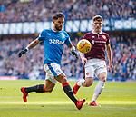 24.02.18 Rangers v Hearts:<br /> Daniel Candeias and Euan Henderson