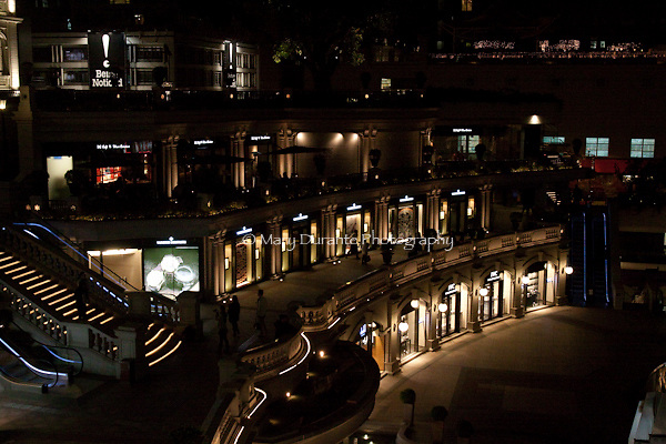 shops at night, haute coutoure
