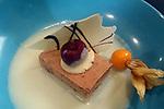 37a Festa de la Cirera.<br /> Ruta Gastronomica.<br /> Restaurant Al Punt.<br /> Mousse de cirera amb xocolata blanca.