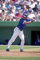 Kansas City Royals George Brett during spring training circa 1992 at Chain of Lakes Park in Winter Haven, Florida.  (MJA/Four Seam Images)