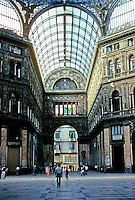 Italy: Naples--Galleria Umberto I.  Photo '83.
