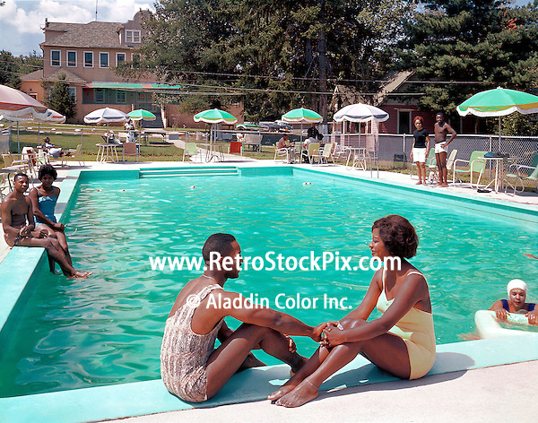 Utopia Lodge, NY 1959. Couples sitting by the pool. Approx date of this picture is 1959.