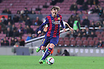 08.01.2014 Barcelona, Spain. Spanish Cup. Picture show Rakitic in action during game between FC Barcelona against Elche at Camp Nou