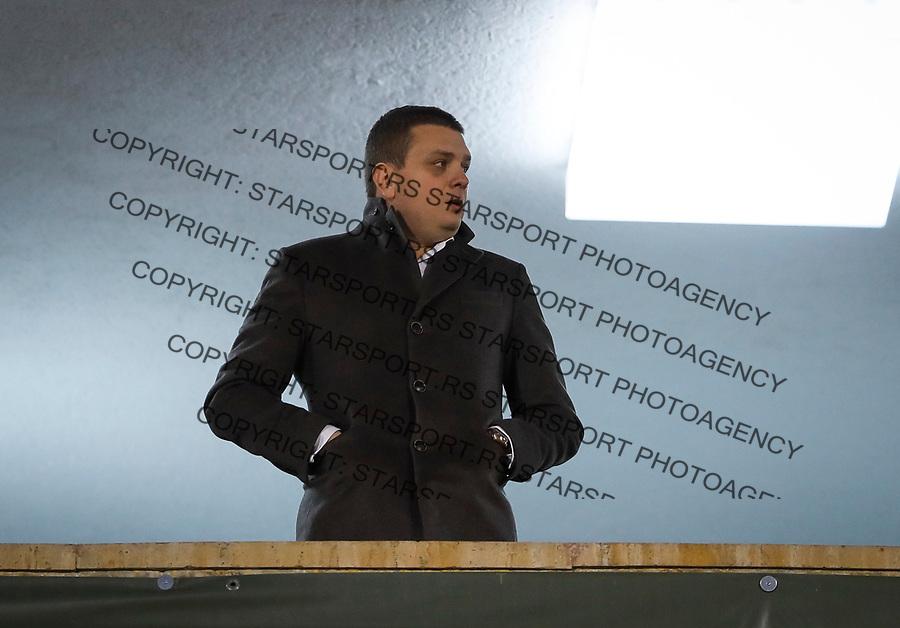 Fudbal UEFA Europa League Group B season 2017-201<br /> Partizan v Young Boys<br /> Milos Vazura<br /> Beograd, 23.11.2017.<br /> foto: Srdjan Stevanovic/Starsportphoto &copy;