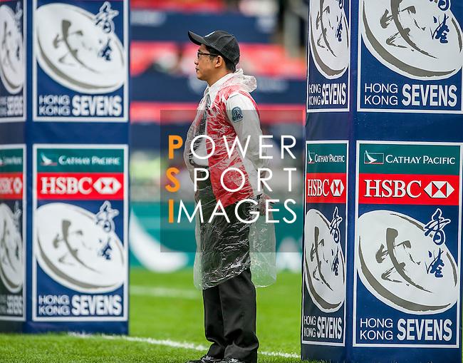Uruguay vs Trinidad & Tobago during the Cathay Pacific / HSBC Hong Kong Sevens at the Hong Kong Stadium on 29 March 2014 in Hong Kong, China. Photo by Juan Flor / Power Sport Images