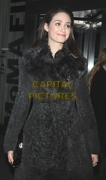 NEW YORK, NY - MARCH 13: Emmy Rossum at the New York premiere of  Magnolia Pictures Nymphomaniac: Volume 1 at the MoMA in New York City on March 13, 2013.  <br /> CAP/MPI/RW<br /> &copy;RW/ MediaPunch/Capital Pictures