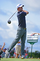 Webb Simpson (USA) watches his tee shot on 7 during Saturday's round 3 of the 117th U.S. Open, at Erin Hills, Erin, Wisconsin. 6/17/2017.<br /> Picture: Golffile | Ken Murray<br /> <br /> <br /> All photo usage must carry mandatory copyright credit (&copy; Golffile | Ken Murray)