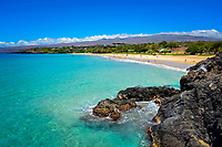 tourists, people on beach, Hapuna beach resort, Hapuna beach, south Kohala coast, The Big Island of Hawaii