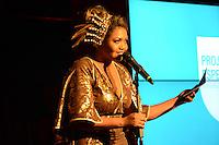 RIO DE JANEIRO, RJ, 23 JULHO 2012 - PREMIO CONTIGO DE MPB - Gabi Amarantes na cerimonia de entrega do primeiro Premio Contigo de Musica Popular Brasileira, no espaco Miranda, zona sul do rio.(FOTO: MARCELO FONSECA / BRAZIL PHOTO PRESS).