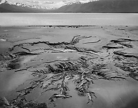 """Mud At Low Tide in the Cook Inlet"" <br />