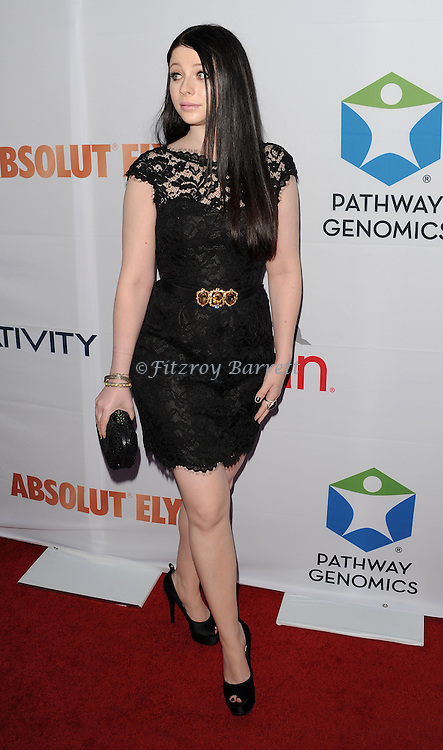 Michelle Trachtenberg at the Pathway To The Cure for Breast Cancer A fundraiser benefiting Susan G. Komen held at private hangar at Santa Monica Airport Los Angeles, CA. June 11, 2014.
