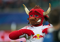 BULLI, Maskottchen of  RB Leipzig,  <br /> RB LEIPZIG  -  AS MONACO 1-1<br />  , Football UEFA Champions League, Leipzig, 13.09.2017<br /> CL  2017/2018<br /> <br />  *** Local Caption *** © pixathlon<br /> Contact: +49-40-22 63 02 60 , info@pixathlon.de