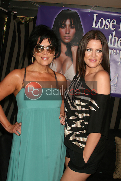 Kris Jenner and Khloe Kardashian<br />