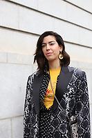 NOVA YORK, EUA, 11.02.2019 - MODA-NOVA YORK - Brasileira Camila Coutinho é visto chegando para o desfile da Carolina Herrera no New York Fashion Week nesta segunda-feira, 11. (Foto: Vanessa Carvalho/Brazil Photo Press)