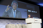 Japan's former Prime Minister Junichiro Koizumi speaks during the second day of the New Economy Summit (NEST 2017) on April 7, 2017, Tokyo, Japan. The annual summit brings together global entrepreneurs and innovators for a two-day event in Tokyo. (Photo by Rodrigo Reyes Marin/AFLO)