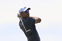Cameron Chamo (AM)(USA) tees off the 7th tee during Friday's Round 2 of the 117th U.S. Open Championship 2017 held at Erin Hills, Erin, Wisconsin, USA. 16th June 2017.<br /> Picture: Eoin Clarke | Golffile<br /> <br /> <br /> All photos usage must carry mandatory copyright credit (&copy; Golffile | Eoin Clarke)