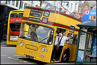 Back on the Buses - restored bus back in service.