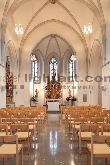Kirche  Ruggell, Liechtenstein. Foto: Paul Trummer / Mauren.