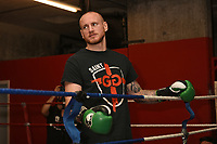George Groves during a Media Workout at Dale Youth ABC on 10th October 2017