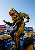 funny car, Camry, J.R. Todd, DHL, victory, celebration