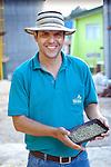 Coffee Farmer, San Marcos de Terrazu, Costa Rica.