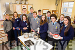TY students from Presentation Secondary School and Meanscoil Phadraig Naofa  are taking part in a food programme.Pictured front l-r Lorraine Hanrahan, James Brosnan, Amrei Kramer, Alex Browne, Joanne McCarthy. Back l-r Noreen O'Shea, Teacher, Alison Jones, Jack Flynn, Daniel Culotte, Sean Brosnan, William Brosnan and Shauna O'Donoghue