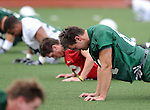 Tulane Green Wave Fall Football, Day 1 of the 2011-2012 season.