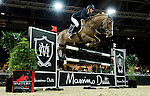 Katharina Offel of Ukraine riding Charlie in action during the Longines Speed Challenge competition as part of the Longines Hong Kong Masters on 13 February 2015, at the Asia World Expo, outskirts Hong Kong, China. Photo by Victor Fraile / Power Sport Images