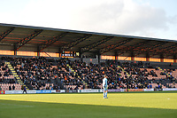 90 mins up during Barnet vs Bristol Rovers, Emirates FA Cup Football at the Hive Stadium on 11th November 2018