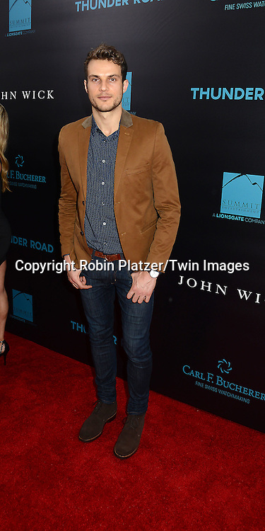Ryan Cooper of I Candy attends the Special Screening of &quot;John Wick&quot;  on October 13, 2014 at the Regal Union Square Stadium 14 in New York City.<br /> <br /> photo by Robin Platzer/Twin Images<br />  <br /> phone number 212-935-0770
