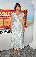 "Katherine Jakeways at the ""Horrible Histories: The Movie - Rotten Romans"" world film premiere, Odeon Luxe Leicester Square, Leicester Square, London, England, UK, on Sunday 07th July 2019.<br /> CAP/CAN<br /> ©CAN/Capital Pictures"