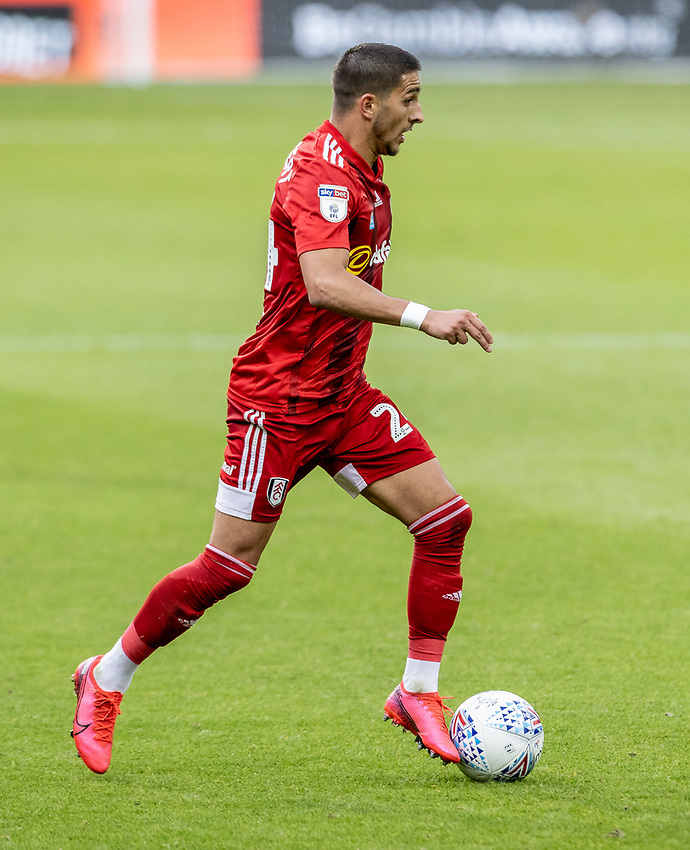 Fulham's Anthony Knockaert  breaks <br /> <br /> Photographer Andrew Kearns/CameraSport<br /> <br /> The EFL Sky Bet Championship - West Bromwich Albion v Fulham - Tuesday July 14th 2020 - The Hawthorns - West Bromwich <br /> <br /> World Copyright © 2020 CameraSport. All rights reserved. 43 Linden Ave. Countesthorpe. Leicester. England. LE8 5PG - Tel: +44 (0) 116 277 4147 - admin@camerasport.com - www.camerasport.com