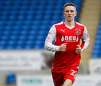 Fleetwood Town's Ashley Hunter in action<br /> <br /> Photographer David Shipman/CameraSport<br /> <br /> The EFL Sky Bet League One - Peterborough United v Fleetwood Town - Friday 14th April 2016 - ABAX Stadium  - Peterborough<br /> <br /> World Copyright &copy; 2017 CameraSport. All rights reserved. 43 Linden Ave. Countesthorpe. Leicester. England. LE8 5PG - Tel: +44 (0) 116 277 4147 - admin@camerasport.com - www.camerasport.com