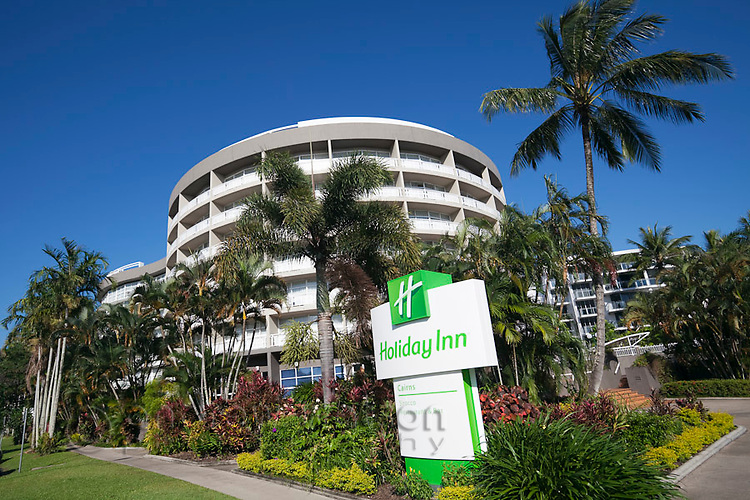 The Holiday Inn on the Esplanade.  Cairns, Queensland, Australia