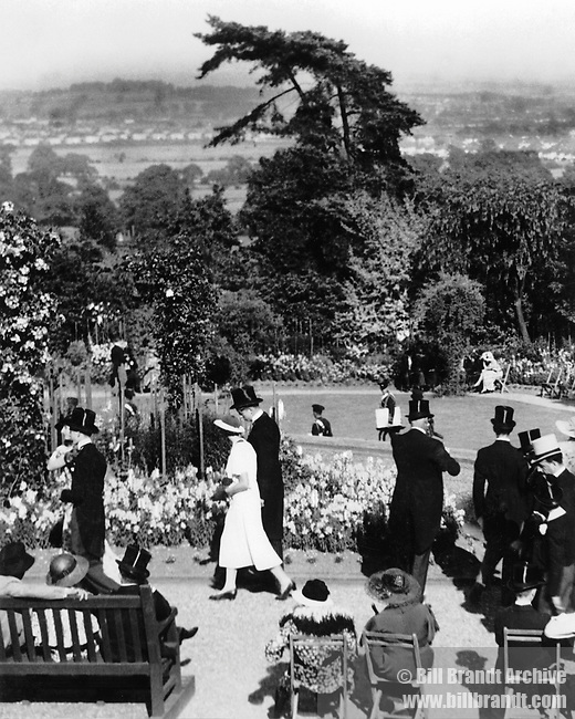 Prize giving Harrow Gardens 1930s