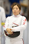 Ayaka Shimookawa (JPN),<br /> AUGUST 5, 2013 - Fencing :<br /> World Fencing Championships Budapest 2013, Women's Individual Epee Qualifications at Syma Hall in Budapest, Hungary. (Photo by Enrico Calderoni/AFLO SPORT) [0391]
