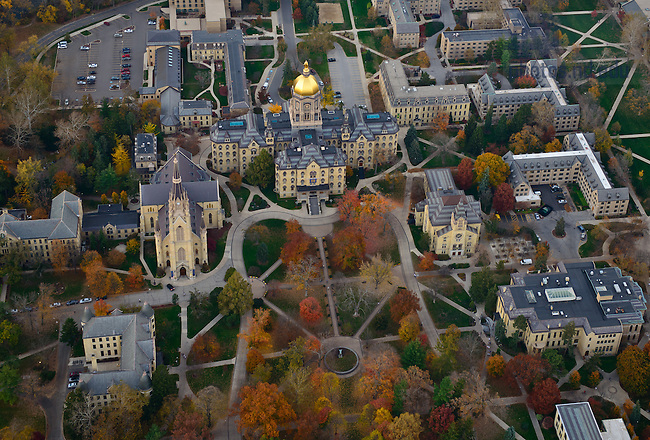 Oct. 24, 2012; Main Quad..Photo by Matt Cashore/University of Notre Dame