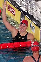 Siobhan Haughet D.C. TRIDENT Winner Women's 200 Freestyle<br /> Napoli 12-10-2019 Piscina Felice Scandone <br /> ISL International Swimming League <br /> Photo Cesare Purini/Deepbluemedia/Insidefoto