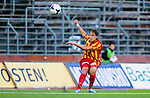S&ouml;dert&auml;lje 2014-08-18 Fotboll Superettan Syrianska FC - Landskrona BoIS :  <br /> Syrianskas Felix Michel i aktion <br /> (Foto: Kenta J&ouml;nsson) Nyckelord:  Syrianska SFC S&ouml;dert&auml;lje Fotbollsarena Landskrona BoIS portr&auml;tt portrait