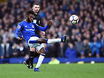 Beni Baningime of Everton during the premier league match at Goodison Park Stadium, Liverpool. Picture date 7th April 2018. Picture credit should read: Robin Parker/Sportimage