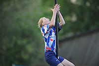 FIERLJEPPEN: IT HEIDENSKIP: 24-05-2014, ©foto Martin de Jong