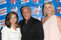 LOS ANGELES - SEP 25: Louie Cruz Beltran, Denise Donatelli, Carol Weisman at 'Pat Harris' California Democratic U.S. Senate run 2018 kick off' at Catalina Jazz Club Bar & Grill on September 25, 2017 in Hollywood, California