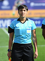 20200304  Parchal , Portugal : Argentinian Daiana Milone pictured during the female football game between the national teams of Denmark and Norway on the first matchday of the Algarve Cup 2020 , a prestigious friendly womensoccer tournament in Portugal , on wednesday 4 th March 2020 in Parchal , Portugal . PHOTO SPORTPIX.BE | DAVID CATRY