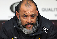 Wolverhampton Wanderers manager Nuno Espirito Santo<br /> <br /> Photographer Rich Linley/CameraSport<br /> <br /> The Premier League - Burnley v Wolverhampton Wanderers - Saturday 30th March 2019 - Turf Moor - Burnley<br /> <br /> World Copyright © 2019 CameraSport. All rights reserved. 43 Linden Ave. Countesthorpe. Leicester. England. LE8 5PG - Tel: +44 (0) 116 277 4147 - admin@camerasport.com - www.camerasport.com